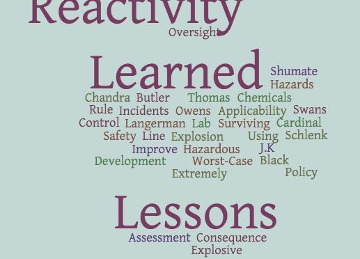 Managing Reactive Chemistry