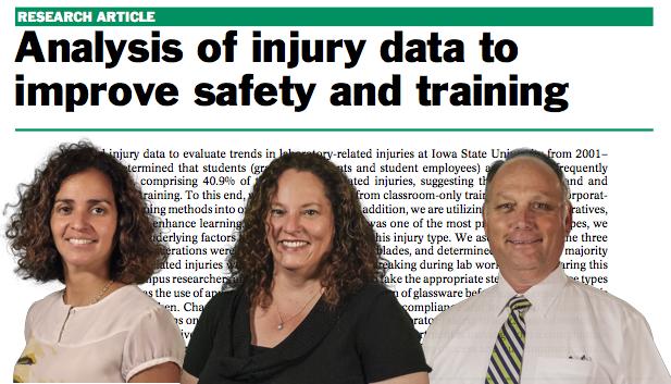 Analysis of injury data to improve safety and training