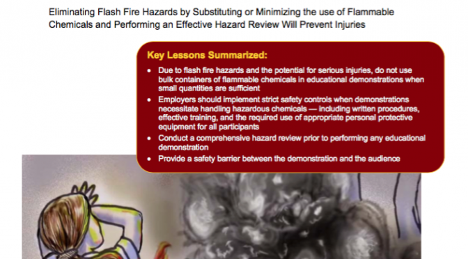 Safety Resources for the Rainbow and Other Chemical Demonstrations