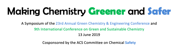 Making Chemistry Greener and Safer