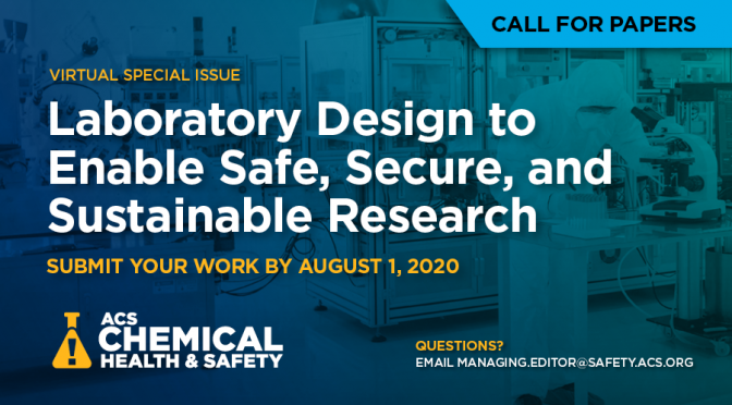 ACS Chemical Health & Safety Call for Papers on Lab Design