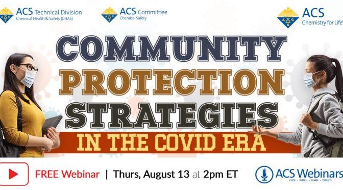 ACS Webinar: Community Protection Strategies in the Covid Era