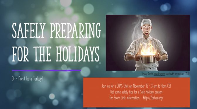 CHAS CHAT: Safely Preparing for the Holidays
