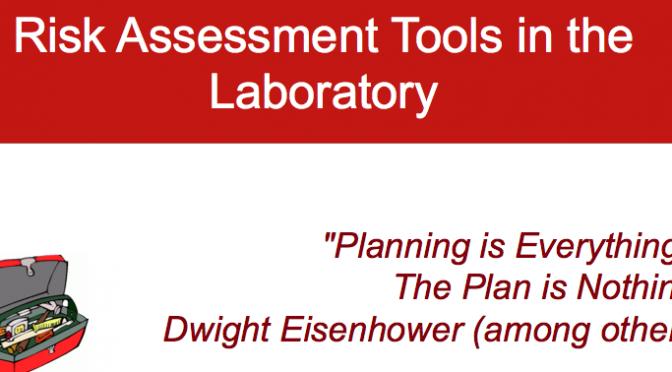 2016 BCCE Lab Risk Assessment Presentations