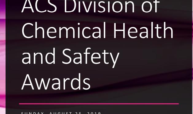 2019 CHAS Awards Symposium