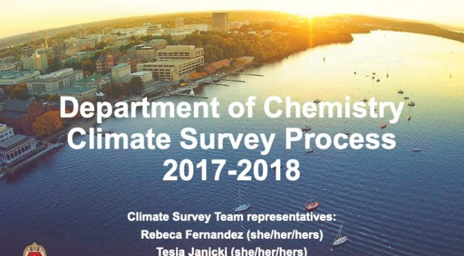 Student-Led Climate Assessment Promotes a Healthier Graduate School Environment: CHAS Journal Club